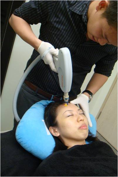 pixel skin resurfacing laser treatment