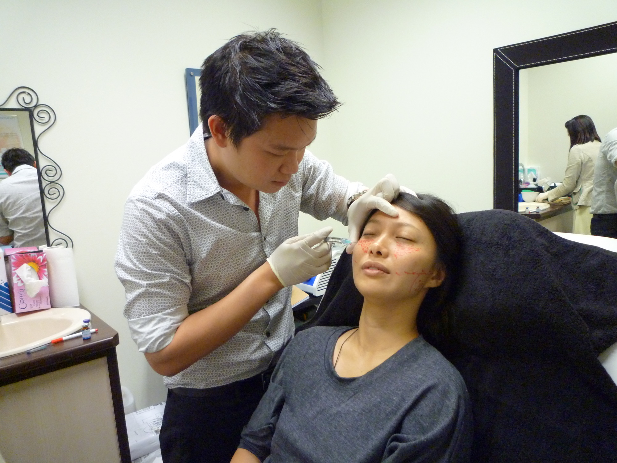 facial remodelling treatment with Dr Z